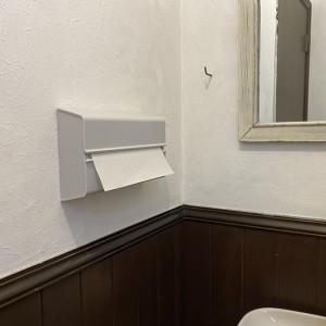 トイレのタオル廃止案可決